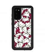 Hello Kitty Multiple Bows Pink Galaxy S20 Waterproof Case