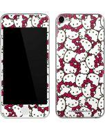 Hello Kitty Multiple Bows Pink Apple iPod Skin