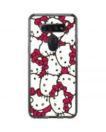 Hello Kitty Multiple Bows Pink LG K51/Q51 Clear Case
