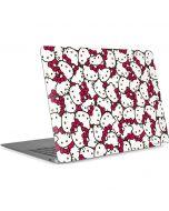 Hello Kitty Multiple Bows Pink Apple MacBook Air Skin