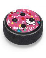 Hello Kitty Music Pattern Amazon Echo Dot Skin
