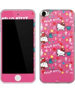 Hello Kitty Music Pattern Apple iPod Skin