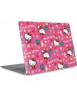 Hello Kitty Music Pattern Apple MacBook Air Skin
