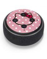 Hello Kitty Outline Amazon Echo Dot Skin