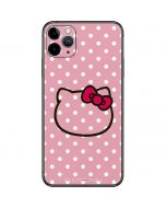 Hello Kitty Outline iPhone 11 Pro Max Skin