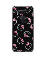 Hello Kitty Pattern LG K51/Q51 Clear Case
