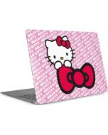 Hello Kitty Pink Bow Peek Apple MacBook Air Skin