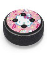Hello Kitty Pink, Hearts & Rainbows Amazon Echo Dot Skin