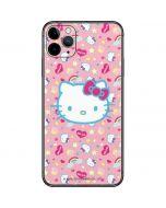 Hello Kitty Pink, Hearts & Rainbows iPhone 11 Pro Max Skin