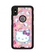 Hello Kitty Pink, Hearts & Rainbows Otterbox Commuter iPhone Skin