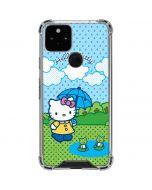 Hello Kitty Rainy Day Google Pixel 5 Clear Case