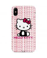 Hello Kitty Repeat iPhone XS Lite Case