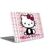 Hello Kitty Repeat Apple MacBook Air Skin