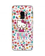 Hello Kitty Smile White Galaxy S9 Skin