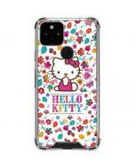 Hello Kitty Smile White Google Pixel 5 Clear Case
