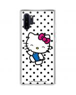 Hello Kitty Waving Galaxy Note 10 Plus Clear Case