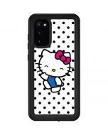 Hello Kitty Waving Galaxy S20 Waterproof Case