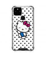 Hello Kitty Waving Google Pixel 5 Clear Case