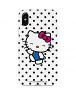 Hello Kitty Waving iPhone XS Max Lite Case
