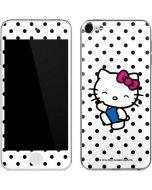 Hello Kitty Waving Apple iPod Skin