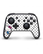 Hello Kitty Waving Nintendo Switch Pro Controller Skin