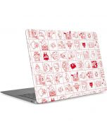 Hello Sanrio Outline Apple MacBook Air Skin