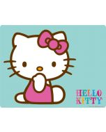 Hello Kitty Blue Background Nintendo Switch Joy Con Controller Skin