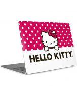 HK Pink Polka Dots Apple MacBook Air Skin