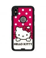HK Pink Polka Dots Otterbox Commuter iPhone Skin