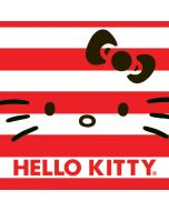 Hello Kitty Red Stripes iPhone X Skin