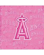 Los Angeles Angels - Pink Cap Logo Blast Apple iPad Skin