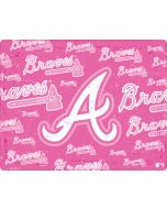 Atlanta Braves - Pink Cap Logo Blast PS4 Slim Bundle Skin