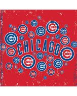Chicago Cubs - Red Primary Logo Blast Yoga 910 2-in-1 14in Touch-Screen Skin