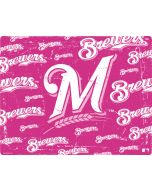 Milwaukee Brewers - Pink Cap Logo Blast Apple iPad Skin