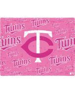 Minnesota Twins - Pink Cap Logo Blast Apple iPad Skin