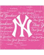 New York Yankees - Pink Cap Logo Blast Asus X202 Skin