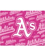 Oakland Athletics - Pink Cap Logo Blast Apple iPad Skin