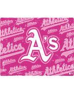 Oakland Athletics - Pink Cap Logo Blast PS4 Slim Bundle Skin