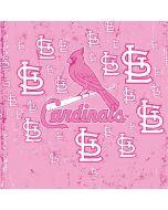 St. Louis Cardinals - Pink Primary Logo Blast Xbox Series X Controller Skin