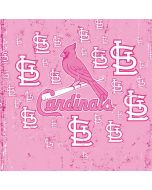 St. Louis Cardinals - Pink Primary Logo Blast PS4 Slim Bundle Skin
