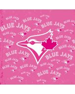 Toronto Blue Jays Pink Cap Logo Blast Apple iPad Skin