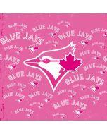 Toronto Blue Jays Pink Cap Logo Blast Yoga 910 2-in-1 14in Touch-Screen Skin