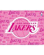 Los Angeles Lakers Pink Blast Apple iPad Skin