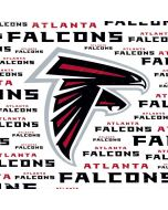Atlanta Falcons White Blast Amazon Fire TV Skin