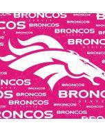 Denver Broncos Pink Blast Apple iPad Skin