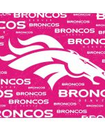 Denver Broncos Pink Blast Apple AirPods Skin