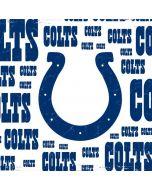 Indianapolis Colts White Blast Apple iPad Skin