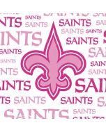 New Orleans Saints Pink Blast Apple iPad Skin
