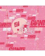 New York Giants- Blast Pink Apple iPad Skin
