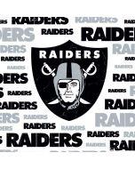 Las Vegas Raiders Silver Blast Apple iPad Skin